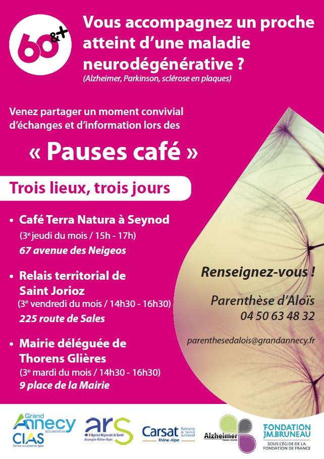Pauses café