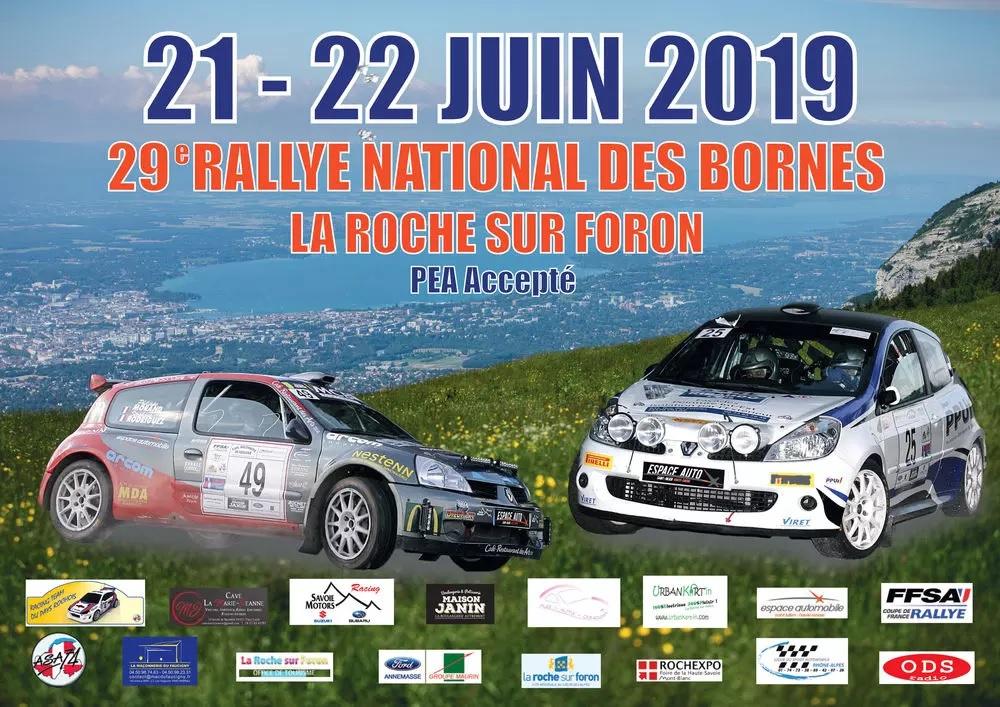 Information riverains de Thorens-Glières Rallye des Bornes