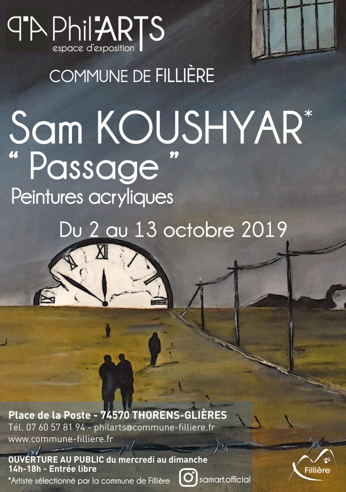 Exposition Sam KOUSHYAR