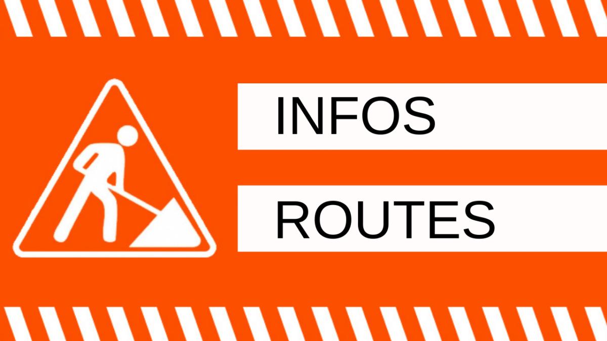 Infos routes : circulation perturbée