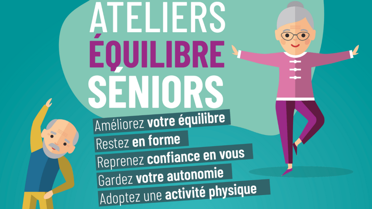 """Atelier """"Équilibre séniors"""""""