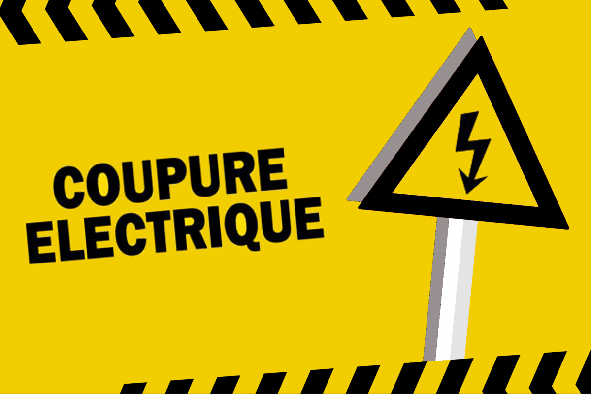 Coupure sur le réseau électrique le 15 avril prochain