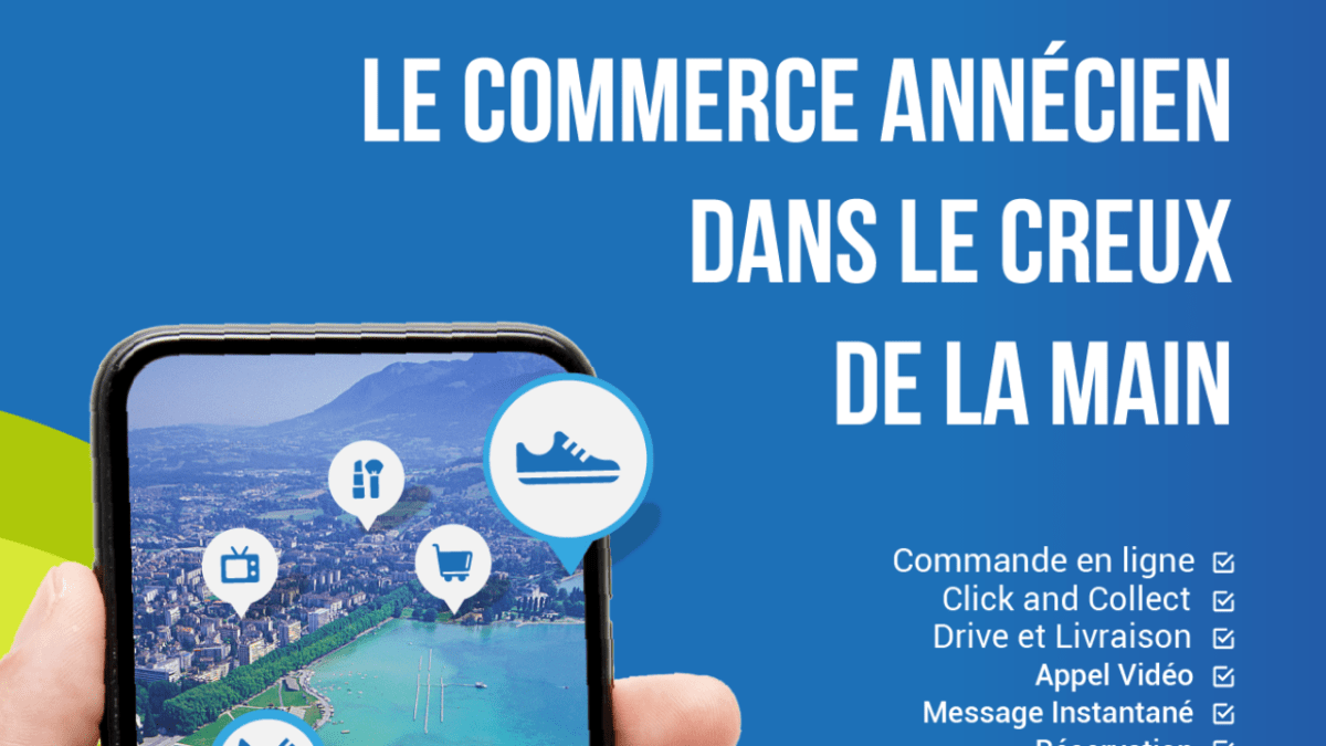 Lancement de l'application du commerce local : Grand Annecy shop